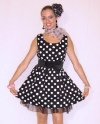 Costume Grease Pois
