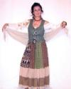Costume Popolana Corpetto