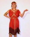 Costume Ancella Rossa