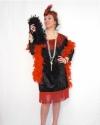Costume Charleston Rosso Sharlene