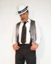 Costume Al Capone gilet