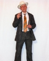 Costume Gangster Marrone