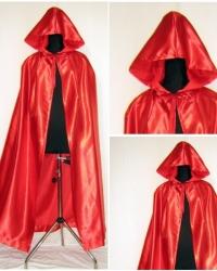 M26 - Mantello Rosso Cappuccio