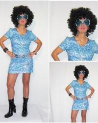 P22 - Costume Donna Disco 70