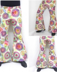 P10 - Costume Anni 70 Pantalone Psichedelico