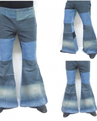 P14 - Costume Anni 70 Pantalone Jeans