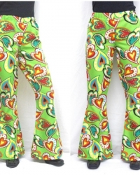 P18 - Costume Pantalone Anni 70 Fantasia