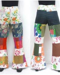 P19 - Costume Pantalone Anni 70 Donna
