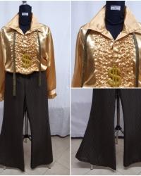 P23 - Costume Completo Disco Anni 70