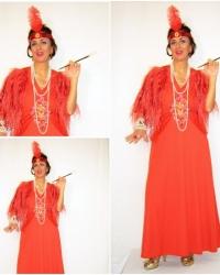 U12 - Costume Charleston Rosso