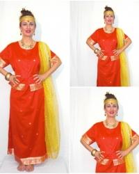 U15 - Costume Principessa Indiana