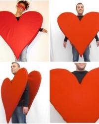 V11 - Costume Cuore Rosso