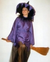 Costume Strega Viola