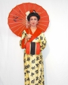 Costume Geisha Gialla
