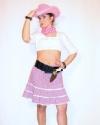 Costume Cowgirl Rosa