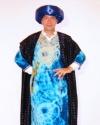 Costume Sceicco Blu