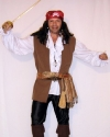 Costume Jack Sparrow Gilet
