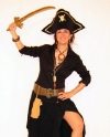 Costume Piratessa Nera