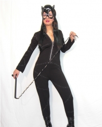 Costume Cat Woman zip