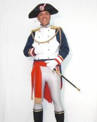 Costume Napoleone Blu